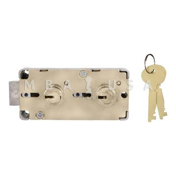 "S&G 4545 DOUBLE CHANGABLE SD LOCK - 1/2"" NOSE"
