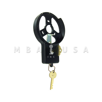 Key Locking Dial Ring, Spy Proof, Black & White (Use W/ D052 Dial)