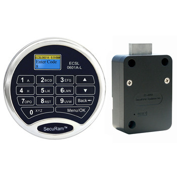 PROLOGIC L02 DEADBOLT LOCK PACKAGE W/ CHROME KEYPAD
