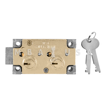 """Double Little Nose, Double Fixed, 1/2"""", SY3 G-Key, Right Hand, Brass"""