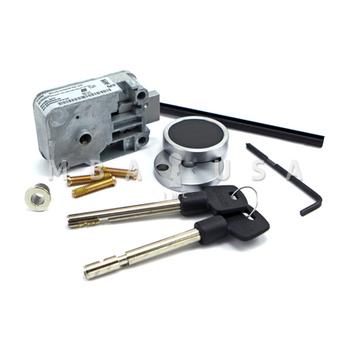 """4-Wheel Keyed Safe Lock w/ Pair of 3"""" Keys & 2-Piece Escutcheon"""