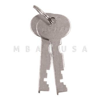 Renter Keys, 1 Pair for DLN 7737 & 7750