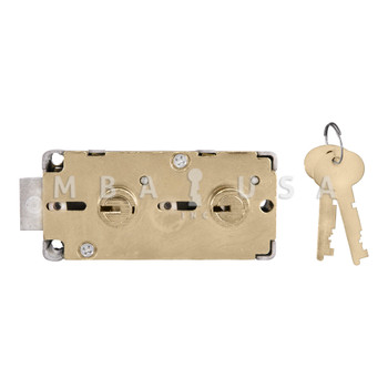 """S&G 4544 DOUBLE CHANGEABLE SD LOCK - 3/8"""" NOSE"""