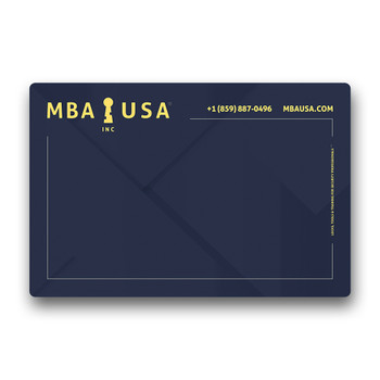 MBA COUNTER MAT