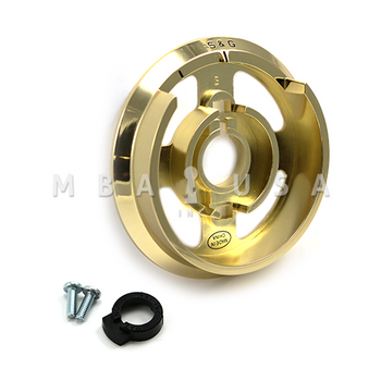 S&G DIAL RING - R167, SPY PROOF, BRIGHT BRASS (USE W/ D220)