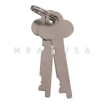 Guardian Renter Keys, Pair, Keyed Different