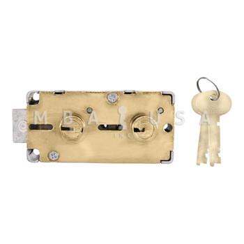 """S&G 4565 FIXED/FIXED SD LOCK - 1/2"""" NOSE, BA4 GUARD"""