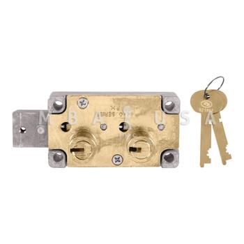 S&G 4444 SAFE DEPOSIT LOCK - EXT. BOLT, RIGHT HAND, #4 GUARD