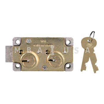 S&G 4443 SAFE DEPOSIT LOCK - RIGHT HAND, #4 GUARD