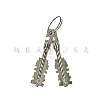 S&G 6870/80/90 FAS KEY BITS - RANDOM CUT, PAIR