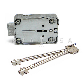 Mauer 71111 President A 8 Lever Lock w/ Pair of 150mm Keys