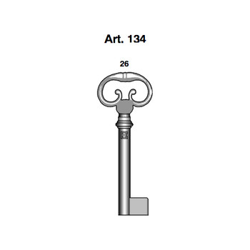 BORKEY FURNITURE KEY ART134/26 BRASS