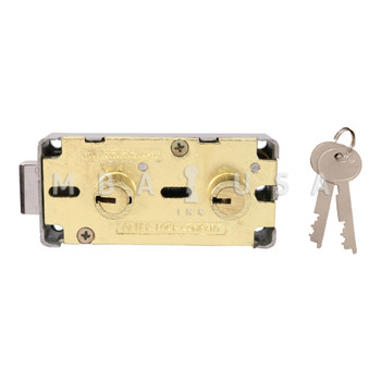 """Double Little Nose, Double Fixed, 1/2"""", P101 G-Key, Brass"""