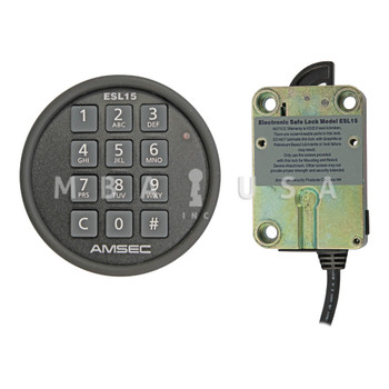 AMSEC ESL15 Swing Bolt Lock w/ Black Keypad