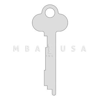 Key Blank, Guard, Diebold 175 Series