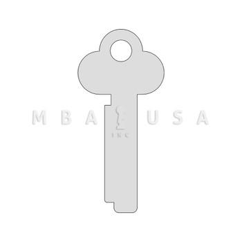Key Blank, Renter,  for Mosler 3175 & 5700