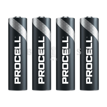 DURACELL PROCELL AAA BATTERY, 4-PACK