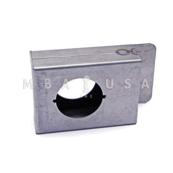"WELDABLE GATE BOX WITH 2-3/4"" BACKSET"