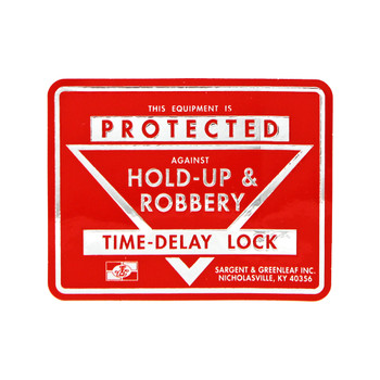S&G TIME LOCK STICKERS