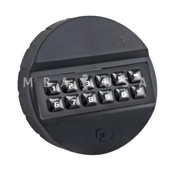 Pulse ABS, Keypad, Rubber Membrane, Black