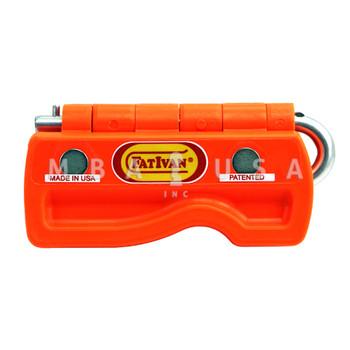 Fativan Fold-Up Door Stop W/ Magnets - Orange