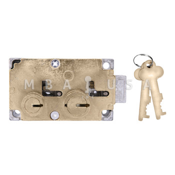 BIG NOSE-LITTLE NOSE, DOUBLE CHANGEABLE, BRASS, LEFT HAND