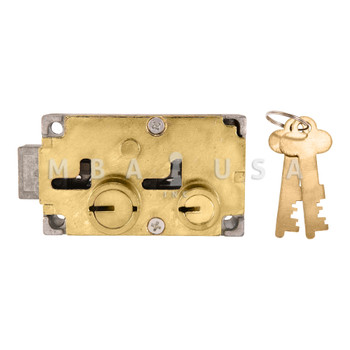 BIG NOSE-LITTLE NOSE, DOUBLE CHANGEABLE, BRASS, RIGHT HAND