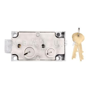 Kumahira 73 Safe Deposit Lock, Right Hand