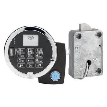 A-SERIES W/ DISPLAY, KEYPAD & PIVOT BOLT (SWING BOLT) LOCK PACKAGE