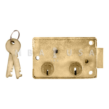 Yale B201 Safe Deposit Lock, Left Hand, SY3 G-Key