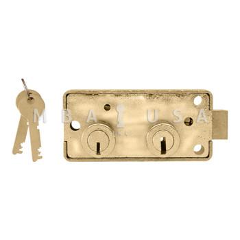 YALE B231 SAFE DEPOSIT LOCK, LEFT HAND, SY3 G-KEY