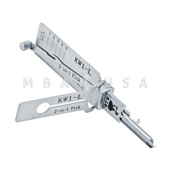 ORIGINAL LISHI 2-in-1 TOOL FOR KWIKSET 5-PIN (LEFT HAND)