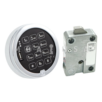S&G DIGITAL TIME LOCK & KEYPAD KIT, PIVOT BOLT LOCK
