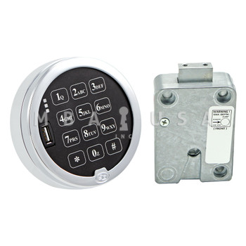 S&G DIGITAL TIME LOCK & KEYPAD KIT, DIRECT DRIVE (DEAD BOLT) LOCK
