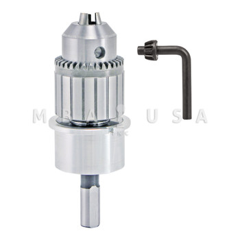 """MAGNETIC DRILL PRESS UNIVERSAL ADAPTER FOR 1/2"""" DRILL KEYED CHUCK"""