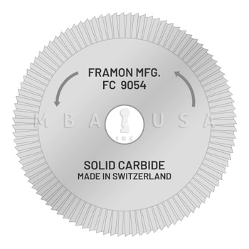 Framon Interchangeable Core Milling Cutter (FC9054)