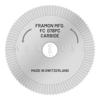 Framon Cutter for Manual Duplicator (Carbide)