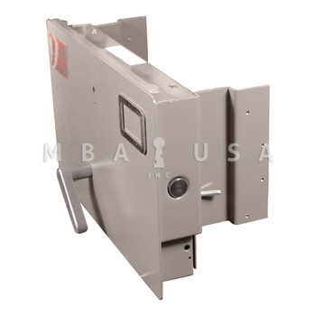 ALPHA RED LABEL CLASS 6 LEGAL SIZE DRAWER HEAD, GRAY  (NO LOCK)