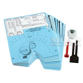 SAFE DEPOSIT CARD DECK FOR HPC 1200 SERIES