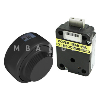 Kaba-Mas X-10 Lock Package, Black Finish, Safe Door Application