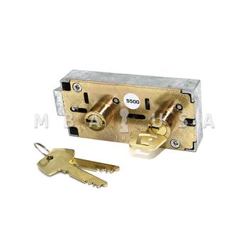"Double Little Nose, 1/2"", Changeable / Fixed, Brass, P4 G-Key (Bluegrass Locks)"