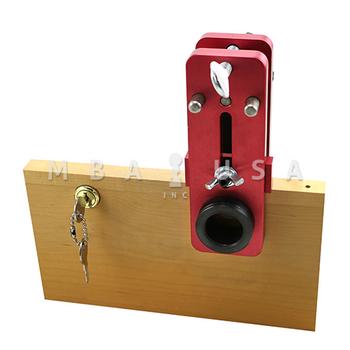 CABINET LOCK DRILL GUIDE