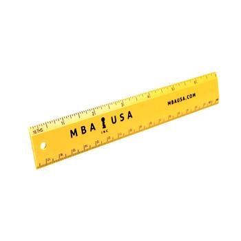 """MBA USA 7"""" RULER"""