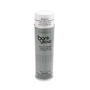 STAINLESS STEEL METAL CLEANER POLISH 15 OZ. AEROSOL CANS - GROUND SHIP ONLY