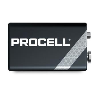 DURACELL PROCELL 9-VOLT PROFESSIONAL ALKALINE BATTERY
