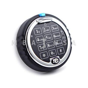 S&G KEYPAD, LOW PROFILE WITH BLUE INDICATOR LIGHTED