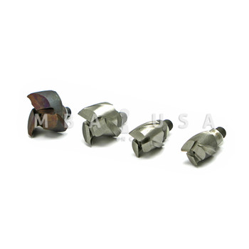 ALUMINUM CUTTER ASSORTMENT  (INCLUDES 4 DIFFERENT SIZES)