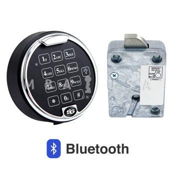 AXISBLU PIVOTBOLT (SWINGBOLT) LOCK PACKAGE W/ MATTE BLACK KEYPAD