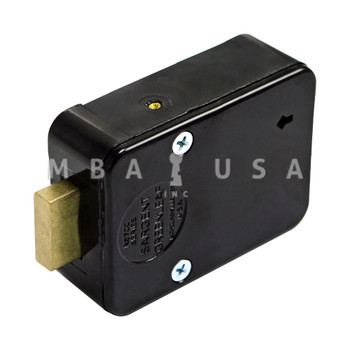 4-WHEEL LOCK PACKAGE W/ SPY PROOF DIAL & RING, BRASS