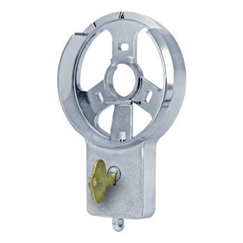 DIAL RING, KEY LOCKING, SPY PROOF (SATIN CHROME)